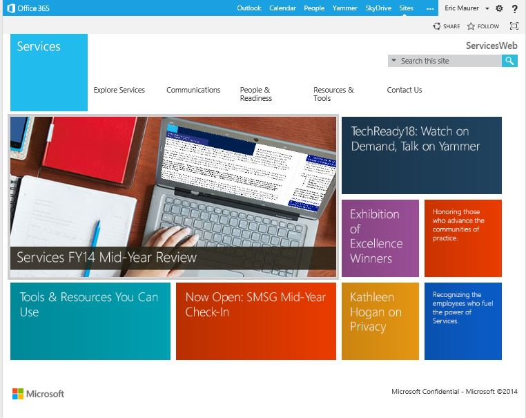 Microsoft Intranet