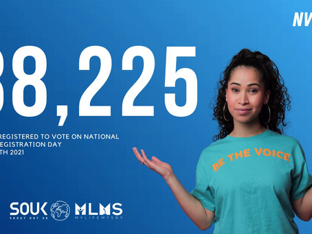 National Voter Registration Day was a massive success!