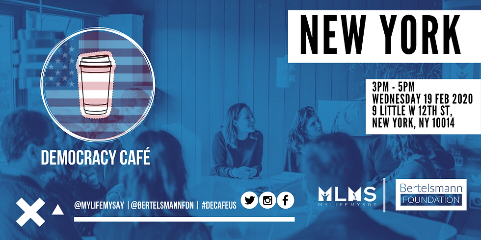 Democracy Café: New York City