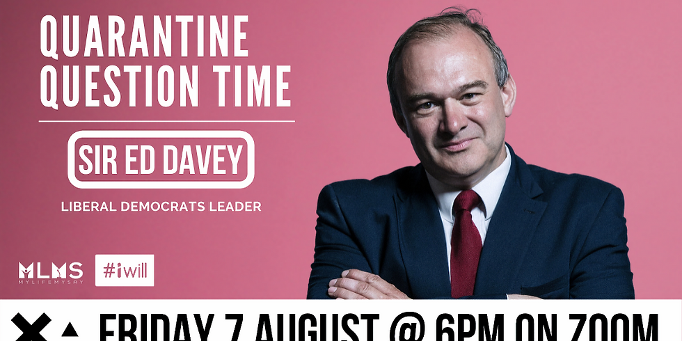 Quarantine Question Time with Sir Ed Davey