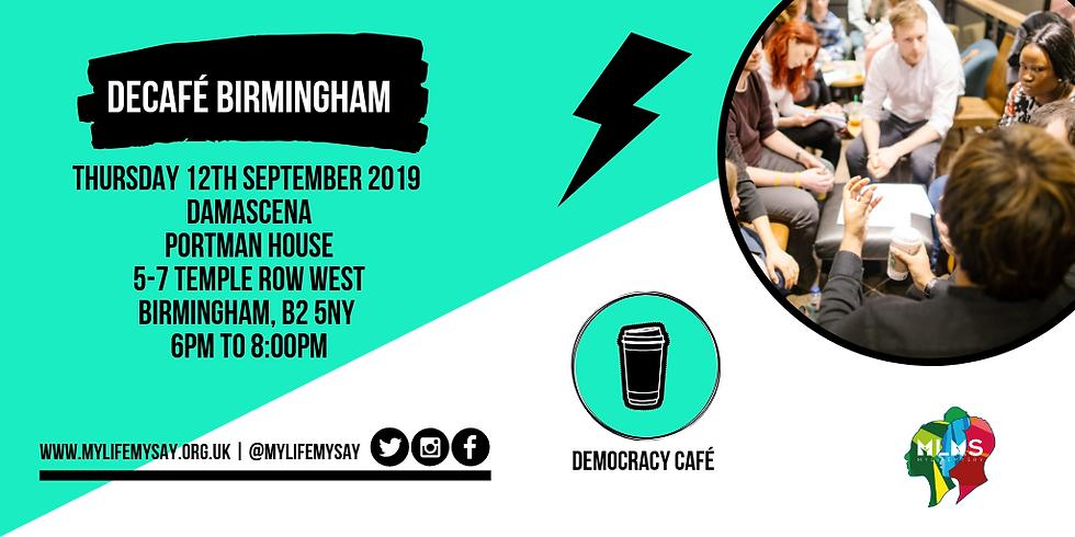 Democracy Café: Birmingham