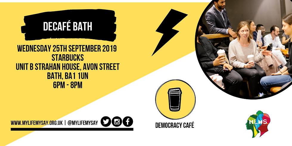 Democracy Café: Bath
