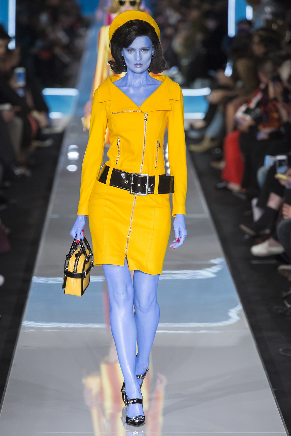 Veronika Vilim for Moschino AW18