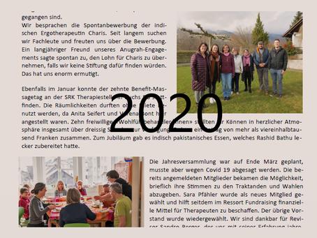 Jahresbericht 2020, Annual Rapport und Berichte Physio