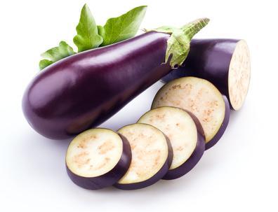 Des aubergines