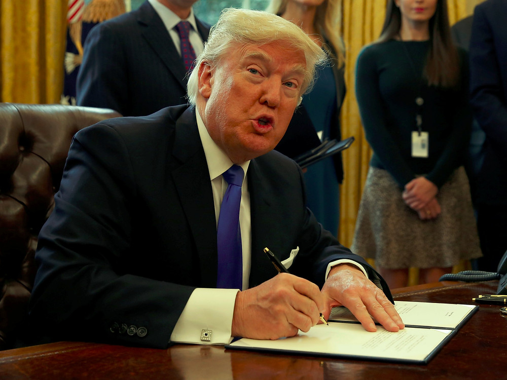 Trump Signs Executive Order on Immigration