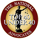 Top 40 lawyers under 40 Joseph caraccio
