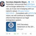 USCIS No Longer Enforcing Public Charge Rule