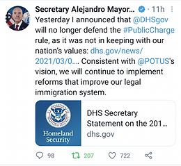 USCIS No Longer Enforcing Public Charge Rule
