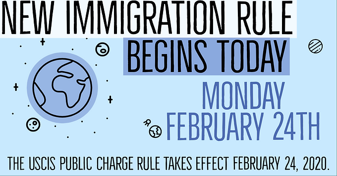 Immigration Public Charge Rule Takes Effect Today