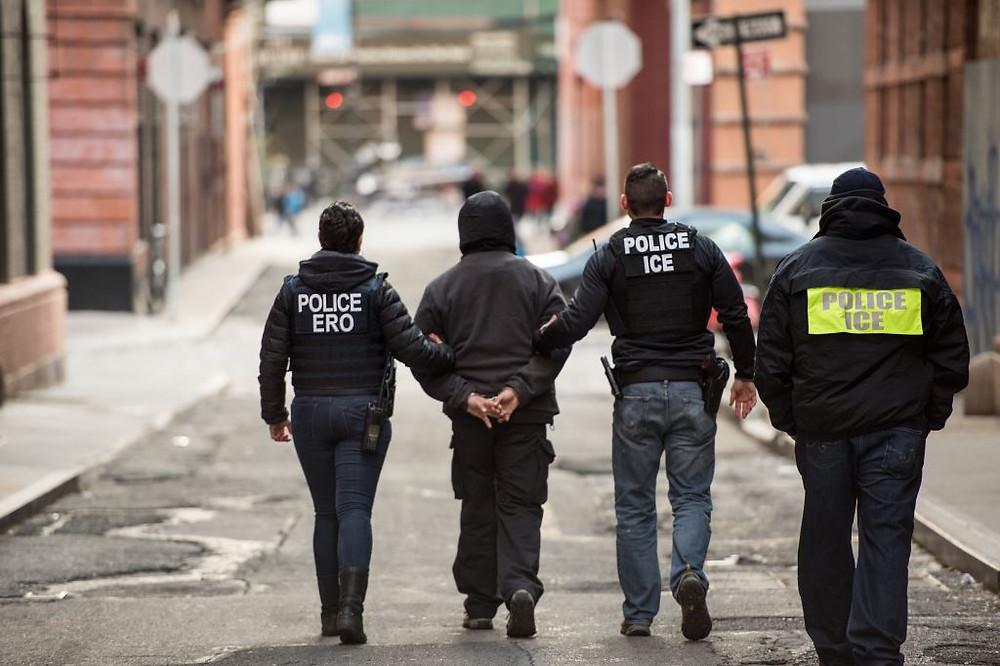 ICE arresting Green Card Applicants