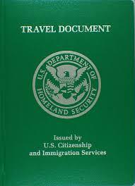 USCIS Travel Document - Reentry Permit - Advance Parole