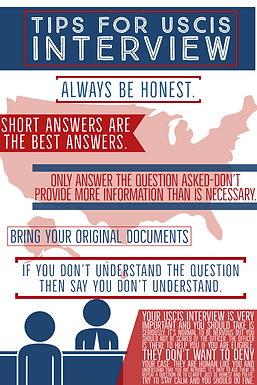 Tips For An Interview With USCIS