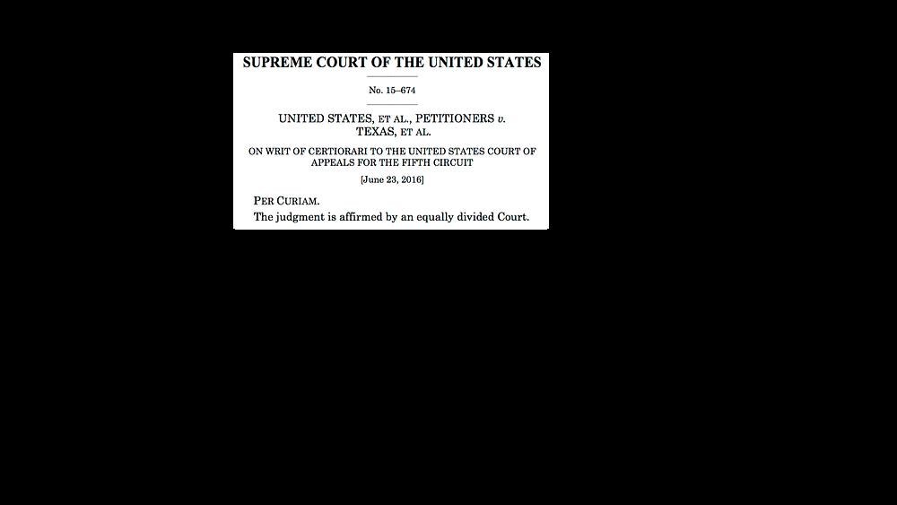 US v. Texas Supreme Court Decision