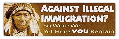 Against Illegal Immigration?