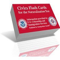 USCIS Naturalization Flash Cards