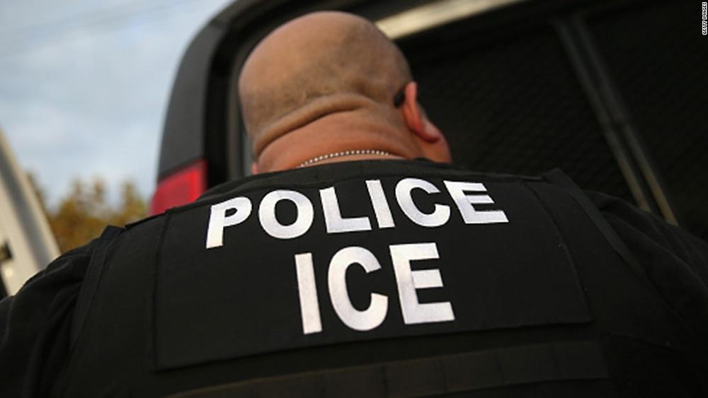 Fat Ass ICE Officer