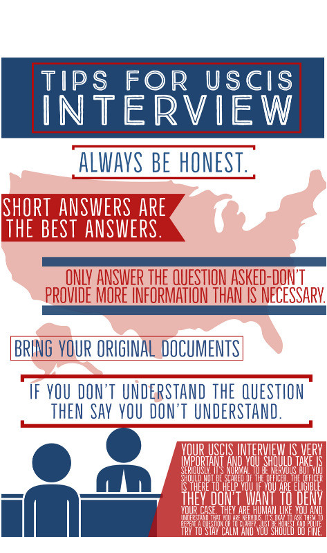 Tips for your USCIS Interview