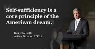 Self-sufficiency core principle of American Dream