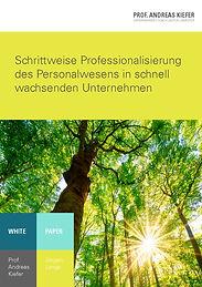 Whitepaper zur Professionalisierung des Personalwesens