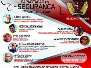 MCA Regional Maceió promove Capacitação de Motociclistas para os Membros.