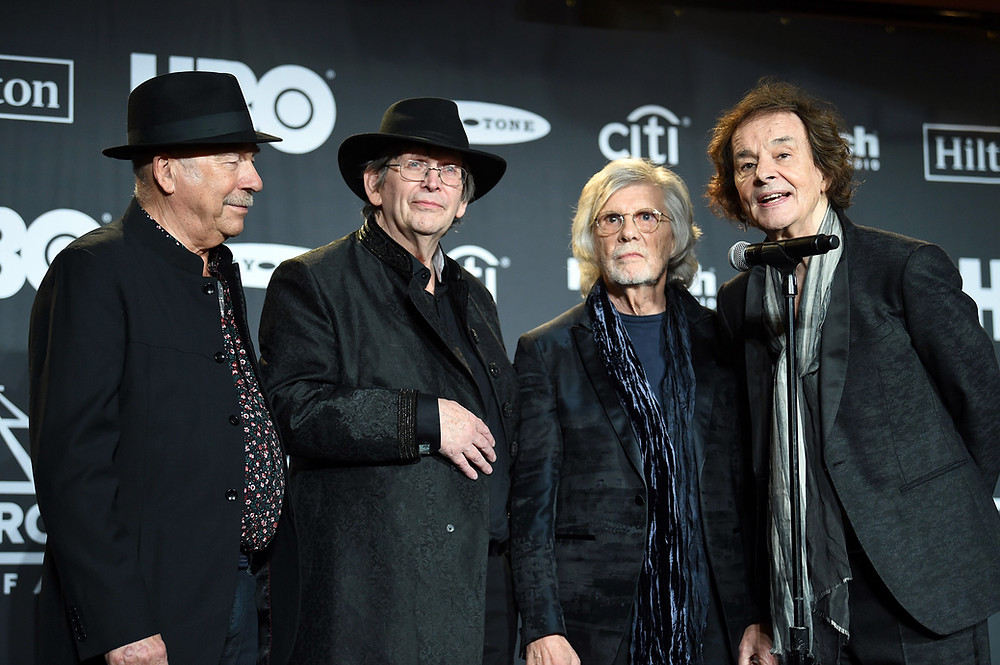Hugh Grundy, Chris White, Rod Argent and Colin Blunstone, The Zombies