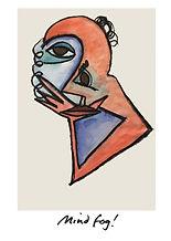 abstract visual art by vivienne boucherat. titled mind fog!
