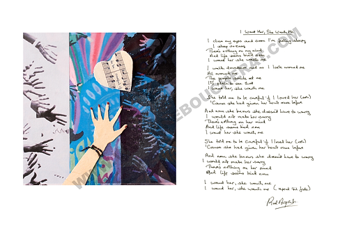 I Want Her, She Wants Me Lyric Sheet