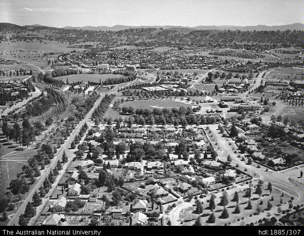 Canberra's Inner South - 1946