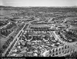 Canberra's Inner South - 1946