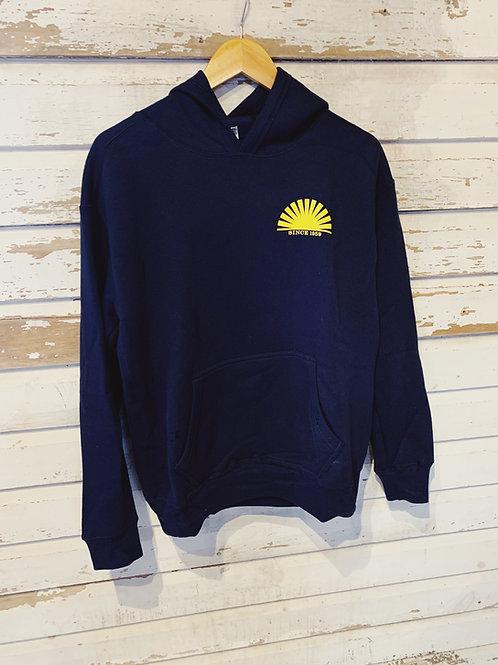 Old School Pullover Hoodie [Navy]