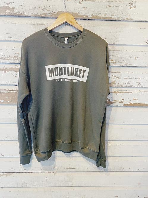 Montauket Crewneck Sweatshirt [Olive]