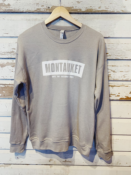 Montauket Crewneck Sweatshirt [Taupe]