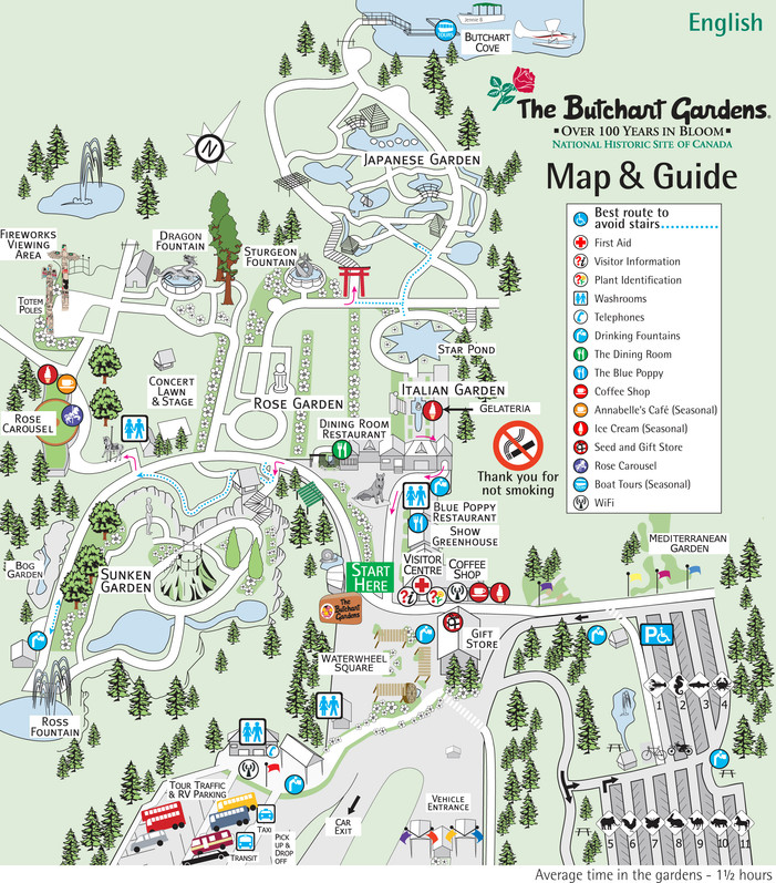 Why you HAVE to visit the Butchart Gardens Dapper Habitat