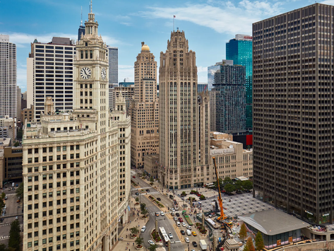 Chicago rents thousands of empty hotel rooms for people who can't isolate at home