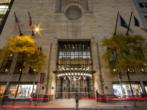 The Hotel Industry looks to the Four Seasons in Manhattan