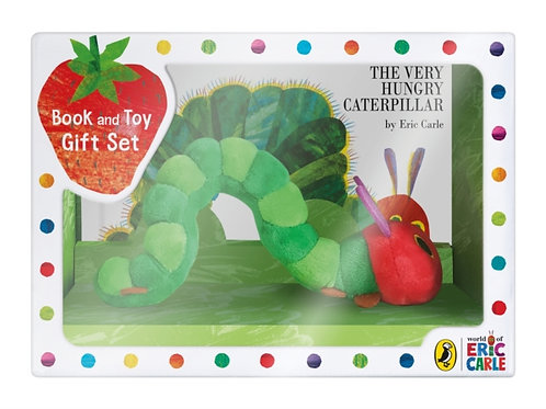The Very Hungry Caterpillar, book and toy