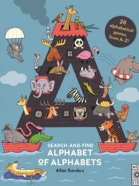 Search and Find Alphabet of Alphabets