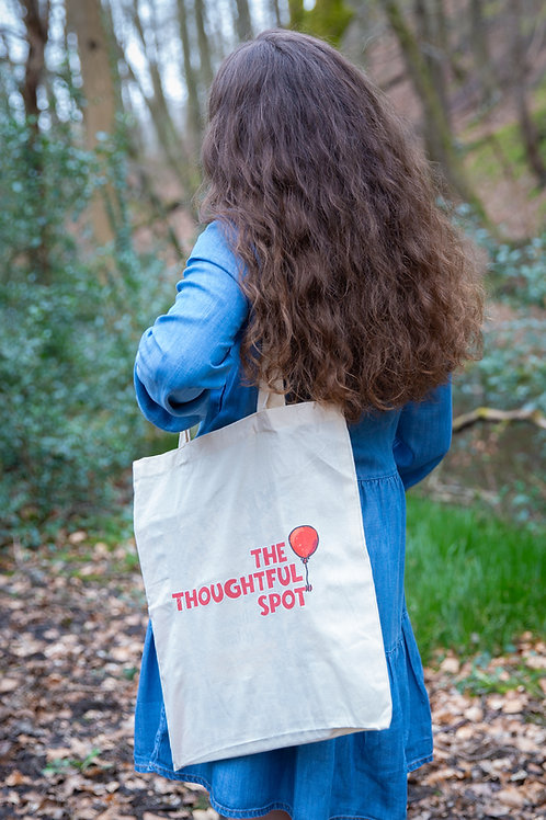 Tote Bag: The Thoughtful Spot logo