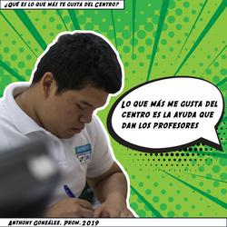 Anthony González, Prom. 2019