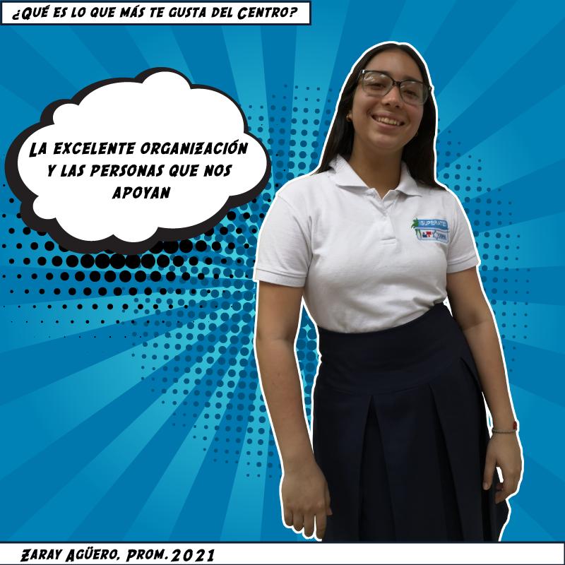 Zaray Agüero, Prom. 2021