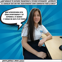 Odeth Arévalo, Prom. 2021