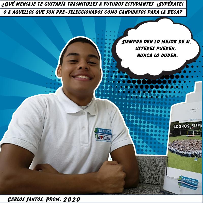 Carlos Santos, Prom. 2020