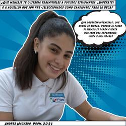Andrea Machado, Prom. 2021