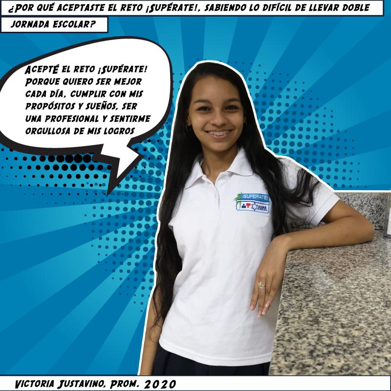 Victoria Justavino, Prom. 2020