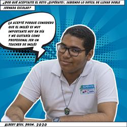 Albert Ríos, Prom. 2020