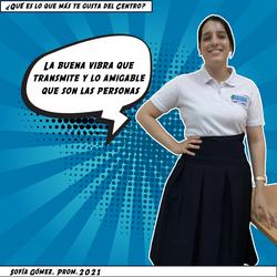 Sofía Gómez, Prom. 2021