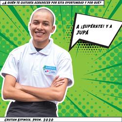 Cristian Espinosa, Prom. 2020
