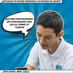 Jefte Fuentes, Prom. 2020