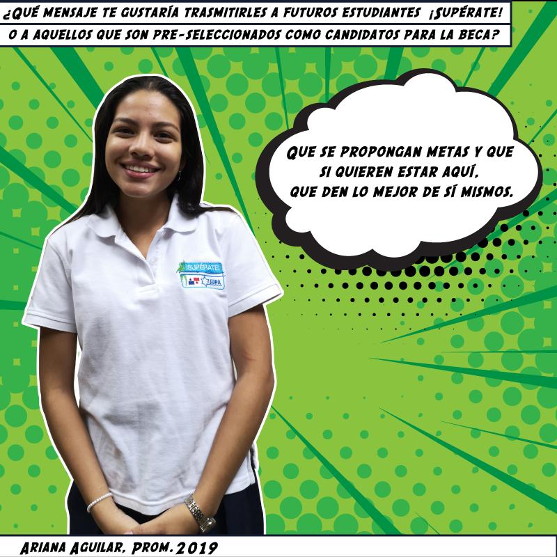 Ariana Aguilar, Prom. 2019
